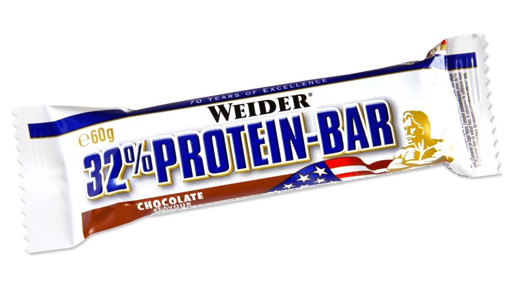 Батончик протеиновый Weider 32% Protein-Bar, шоколад, 60 г30857Weider 32% Protein Bar - это батончик, несущий в составе 32% высококачественного протеина. Он имеет много протеинов и мало жира для утоления легкого голода между приемами пищи. Может заменить протеиновый коктейль для увеличения белков в дневном рационе.Рекомендации по применению:Идеально употреблять между приемами пищи или как десерт, до и после тренировки.Состав: сироп глюкозы, молочный протеин, сироп фруктозы, гидрогенерированное растительное масло, гидролизат из коллагена протеина, декстроза, лимонная кислота, ароматизаторы, соль, витамин С (аскорбиновая кислота), высушенный яичный белок, витамин Е (ди-альфа токоферол), пантотеновая кислота (соль кальция), тиамин (витамин В1, HCl), рибофлавин (витамин В2), витамин В6 (пиридоксин HCl), E122.Товар сертифицирован. Как повысить эффективность тренировок с помощью спортивного питания? Статья OZON Гид