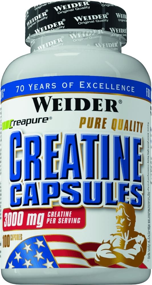 Креатин моногидрат Weider  Creatine Capsules , 100 капсул - Креатин
