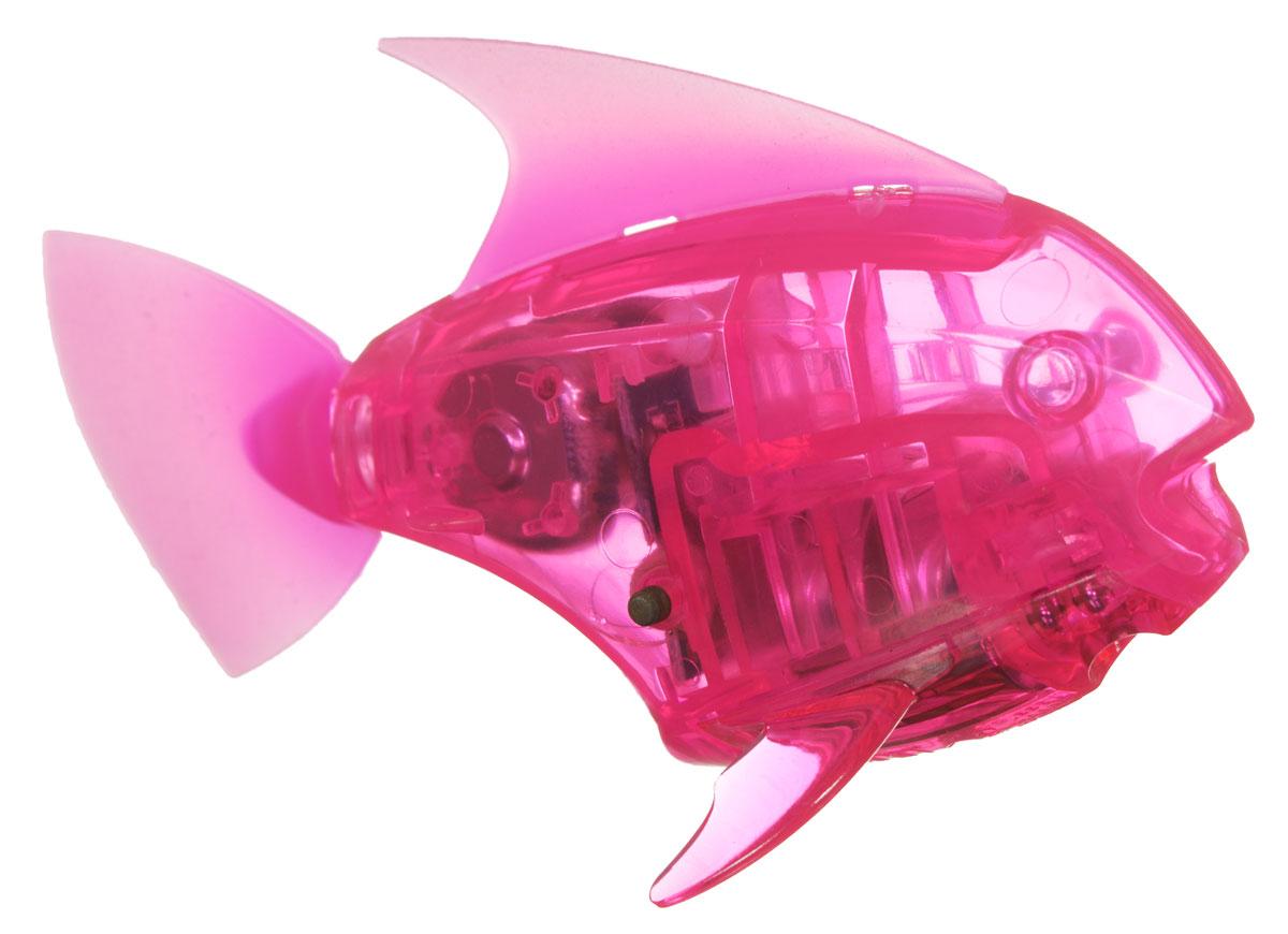 Hexbug Микро-робот AquaBot с аквариумом цвет розовый - Интерактивные игрушки