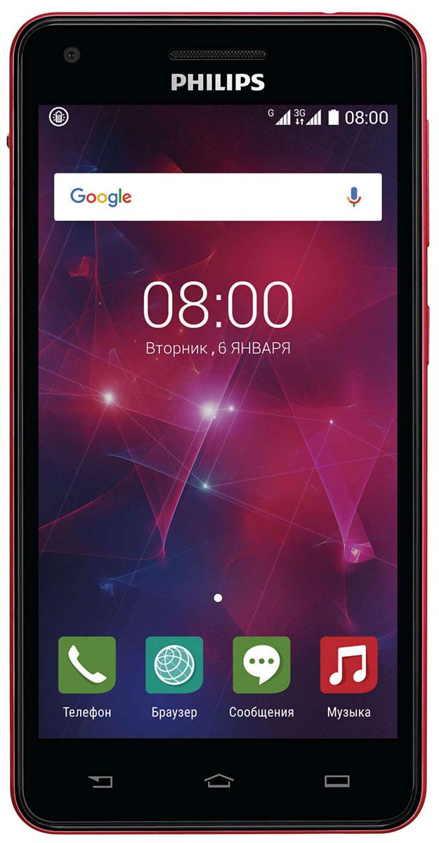 Philips Xenium V377, Black Red8712581737023Смартфон Philips Xenium V377 отличается искусным дизайном и оснащен аккумулятором 5000 мАч и усовершенствованной энергосберегающей технологией. Одна зарядка обеспечивает до 47 дней работы устройства. Откройте для себя мир новых возможностей. Кнопка режима энергосбережения может оказаться для вас одной из самых полезных функций. Нажав на кнопку на боковой панели, вы включаете функцию, которая позволяет сэкономить заряд аккумулятора. В этом режиме отключаются Wi-Fi, GPS и Bluetooth и понижается яркость экрана. Если вы активно пользуетесь телефоном, эта удобная кнопка не только поможет избежать излишних действий для выбора настроек, как это бывает на других телефонах, но и позволит значительно увеличить длительность работы телефона до следующей зарядки. Организуйте свою жизнь — разделите контакты на 2 группы, используя два телефонных номера. С двумя SIM-картами вам не придется все время носить с собой 2 телефона. Благодаря процессору Quad-Core 1,3 ГГц смартфон стал намного мощнее. Он выполняет одновременно несколько команд гораздо быстрее, чем раньше. Мгновенная загрузка веб-страниц, непрерывное воспроизведение видео и быстрая загрузка изображений — вам больше не придется ждать. А еще вы сможете играть в любимые игры в отличном качестве! Наведите объектив, нажмите кнопку — и памятное событие сохранится у вас в виде красочной фотографии. Встроенная вспышка позволяет делать четкие, яркие снимки даже в условиях недостаточного освещения. Philips Xenium V377 оснащен литий-ионным аккумулятором емкостью 5000 мАч, заряда которого хватит на долгие часы работы. Вам больше не придется беспокоиться о пропущенных деловых или личных вызовах.Технология IPS гарантирует отличную видимость с любого угла обзора, насыщенность и превосходное качество изображения. Показывайте друзьям новые снимки или просматривайте любимые веб-сайты — экран 5 обеспечит великолепные впечатления.Благодаря оптимизированной конструкции аккумулятора, защитной микросхеме
