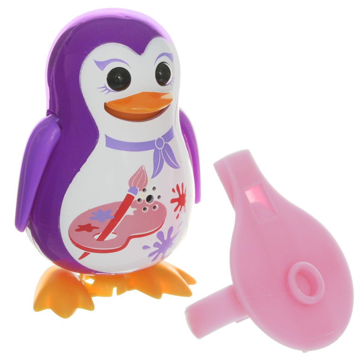 DigiFriends Интерактивная игрушка Пингвин с кольцом цвет фиолетовый digifriends интерактивная игрушка пингвин с кольцом цвет малиновый