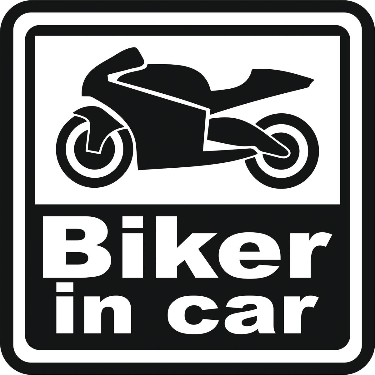 Наклейка автомобильная Оранжевый слоник Biker in Car, виниловая, цвет: черный150MT00021BОригинальная наклейка Оранжевый слоник Biker in Car изготовлена из высококачественной виниловой пленки, которая выполняет не только декоративную функцию, но и защищает кузов автомобиля от небольших механических повреждений, либо скрывает уже существующие.Виниловые наклейки на автомобиль - это не только красиво, но еще и быстро! Всего за несколько минут вы можете полностью преобразить свой автомобиль, сделать его ярким, необычным, особенным и неповторимым!