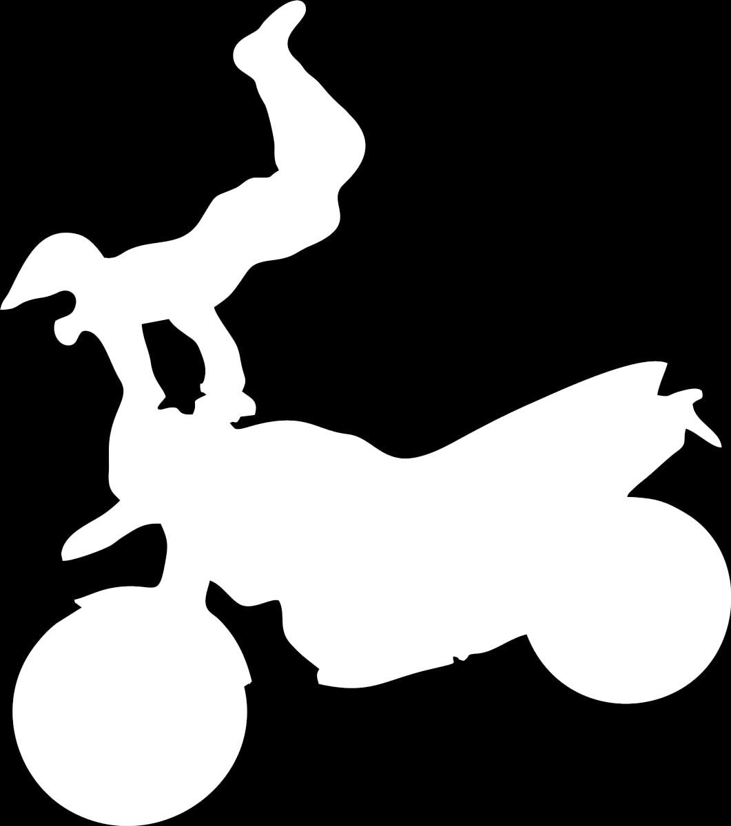 Наклейка автомобильная Оранжевый слоник Мотоциклист 4, виниловая, цвет: белый150MT0004WОригинальная наклейка Оранжевый слоник Мотоциклист 4 изготовлена из высококачественной виниловой пленки, которая выполняет не только декоративную функцию, но и защищает кузов автомобиля от небольших механических повреждений, либо скрывает уже существующие.Виниловые наклейки на автомобиль - это не только красиво, но еще и быстро! Всего за несколько минут вы можете полностью преобразить свой автомобиль, сделать его ярким, необычным, особенным и неповторимым!