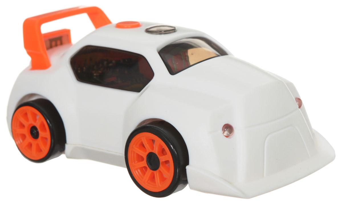 DeskPets Машина-микроробот на радиоуправлении Дрифтбот цвет белый buckle detail flap grab bag
