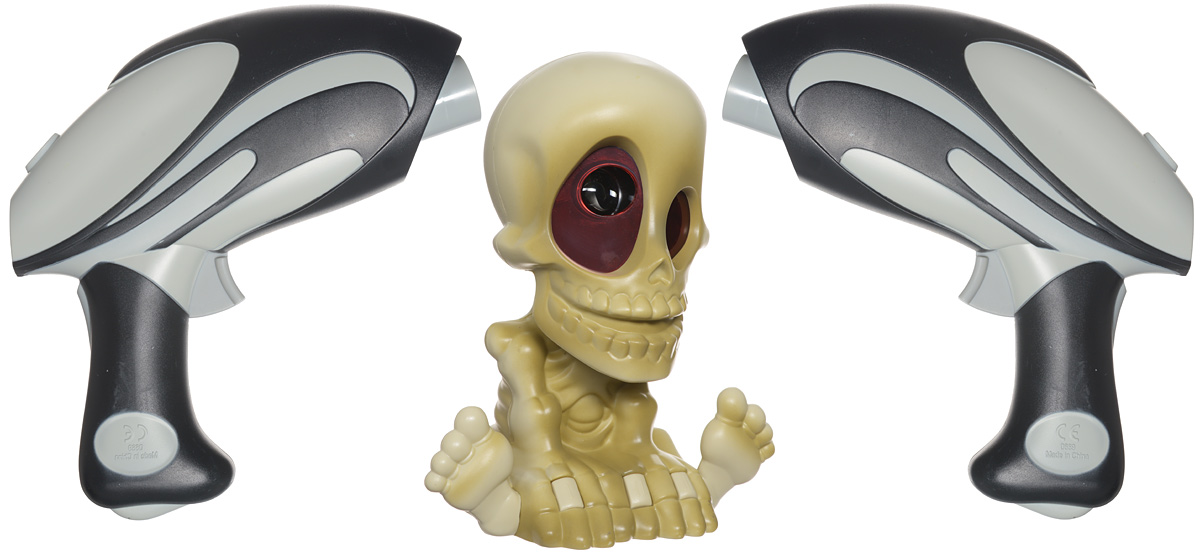 Johnny the Skull Тир проекционный с двумя бластерами johnny