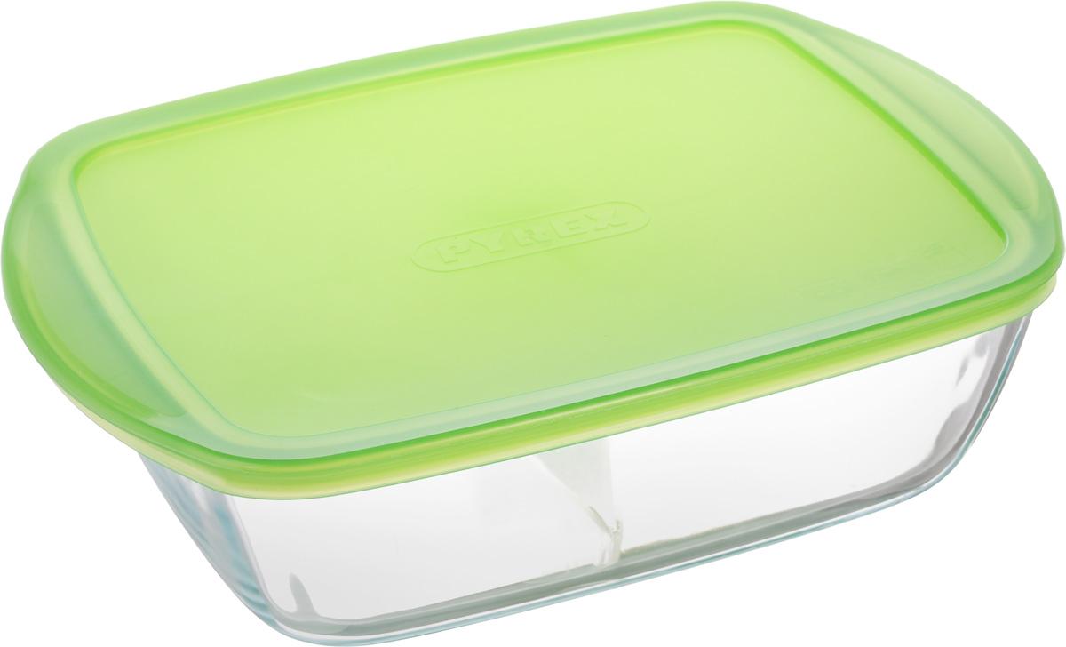 Форма для запекания Pyrex Cook & Store, с крышкой, прямоугольная, 28 х 20 х 8 см216P000Форма для запекания Pyrex Cook & Store изготовлена из жаропрочного стекла,которое выдерживает температуру до +300°С. Форма предназначена дляприготовления горячих блюд и оснащена пластиковой крышкой для хранения итранспортировки пищи. Материал изделия гигиеничен, прост в уходе и обладаетвысокой степенью прочности.Форма идеально подходит для использования в духовках, микроволновых печах,холодильниках и морозильных камерах.Можно мыть в посудомоечной машине. Размер формы (с учетом ручек): 28 х 20 см. Внутренний размер формы: 24 х 18,5 см.Высота стенки формы: 8 см.