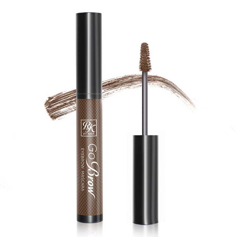 Kiss Тушь для бровей Rich Chocolate Brown Eyebrow mascara RBM03 туши kiss kiss тушь для бровей dark brown eyebrow mascara rbm02