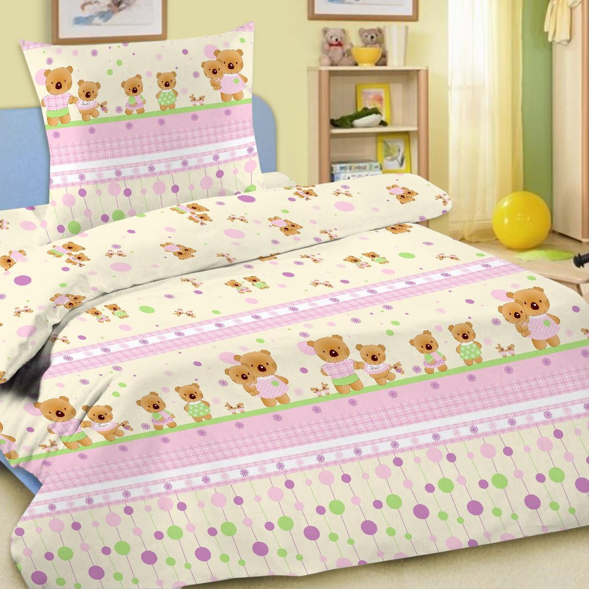 Letto Комплект белья для новорожденных Ясли простыня на резинке цвет розовый BGR-14 letto комплект белья для новорожденных ясли bgr 31