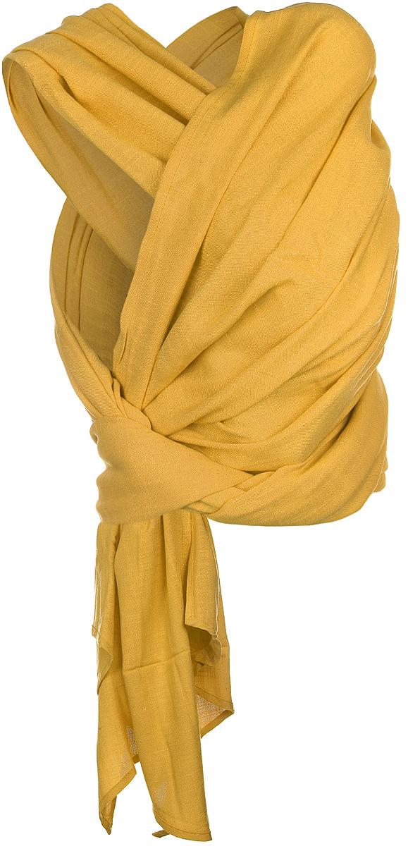 Чудо-Чадо Слинг-шарф Нибус цвет горчичный