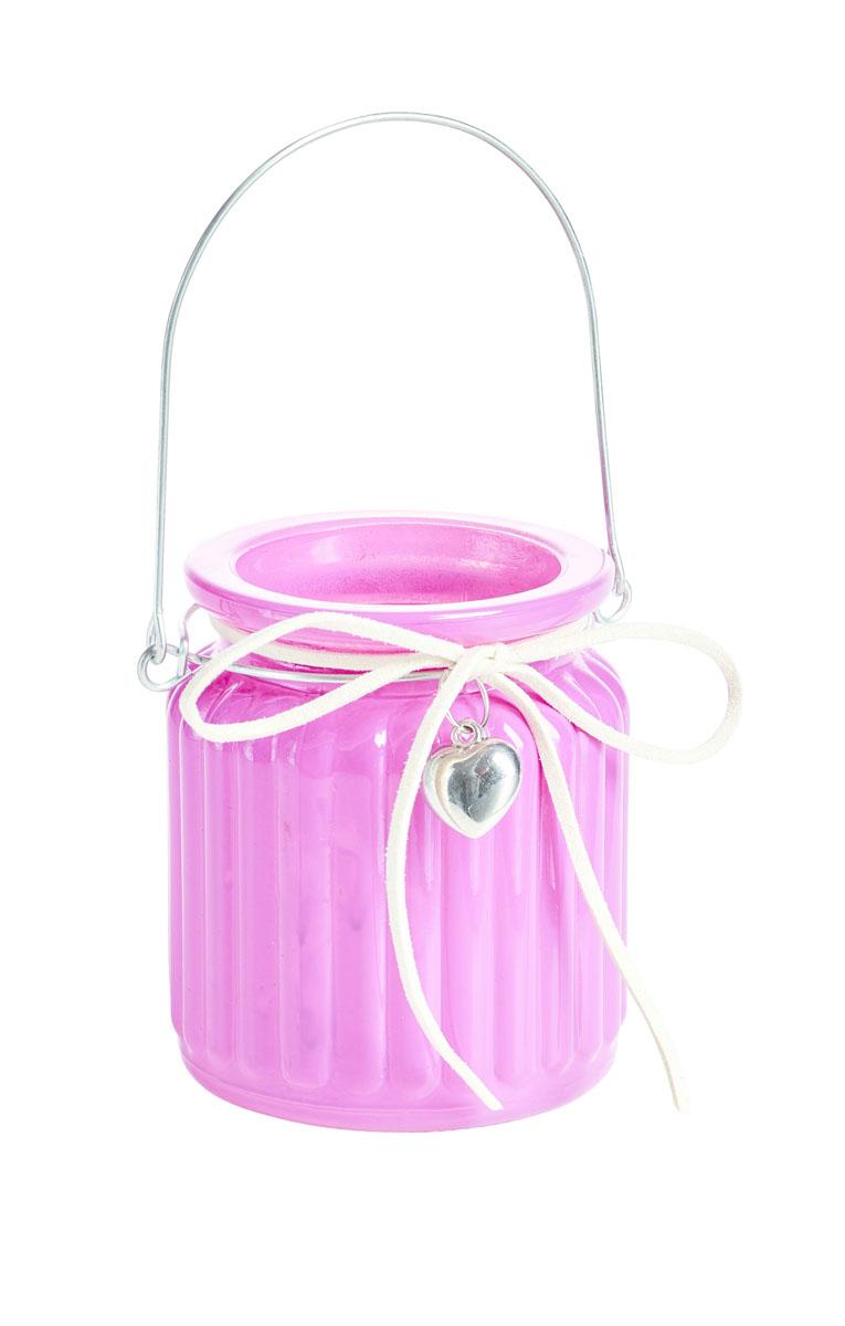 Подсвечник подвесной Gardman Jam Jar, цвет: розовый, 9 см17443Декоративный подсвечник Gardman Jam Jar изготовлен из высококачественного стекла. Он позволит украсить интерьер дома или рабочего кабинета оригинальным образом. Вы можете поставить или подвесить подсвечник в любом месте, где он будет удачно смотреться и радовать глаз. Кроме того - это отличный вариант подарка для ваших близких и друзей.