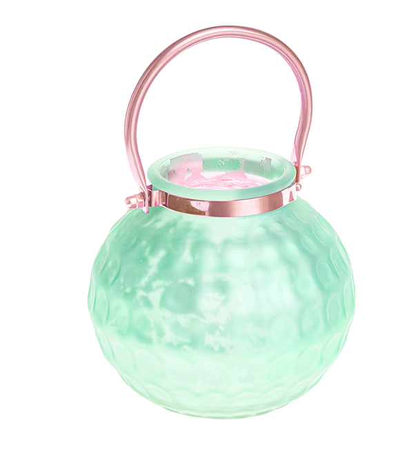 Подсвечник подвесной Gardman Honey Pot. Medium, цвет: светло-зеленый, 13 см17626Декоративный подсвечник Gardman Honey Pot. Medium изготовлен извысококачественногостекла с металлической фольгой внутри. Он позволит украсить интерьер дома илирабочегокабинета оригинальным образом. Вы можете поставить или подвеситьподсвечник в любомместе, где он будет удачно смотреться и радовать глаз. Кроме того - этоотличный вариантподарка для ваших близких и друзей.