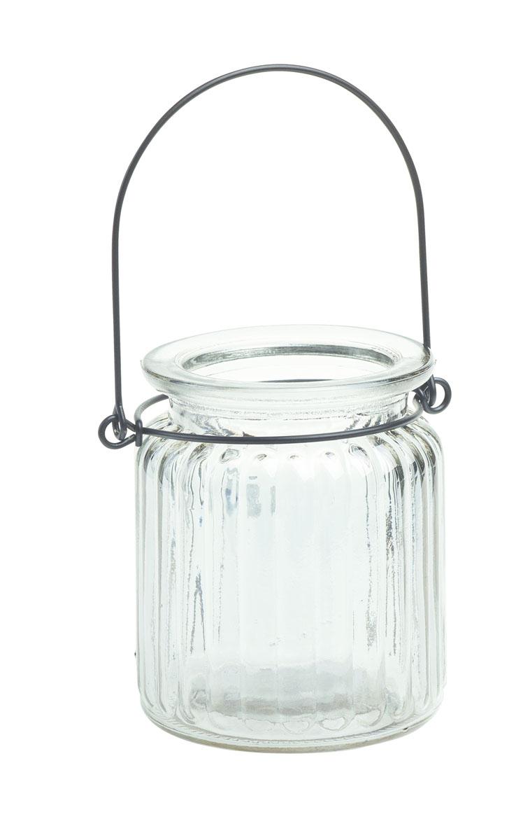 Подсвечник подвесной Gardman Jam Jar, цвет: прозрачный, 9 см17913Декоративный подсвечник Gardman Jam Jar изготовлен из высококачественногостекла. Он позволит украсить интерьер дома илирабочегокабинета оригинальным образом. Вы можете поставить или подвеситьподсвечник в любомместе, где он будет удачно смотреться и радовать глаз. Кроме того - этоотличный вариантподарка для ваших близких и друзей.