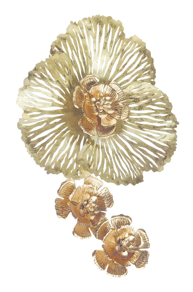 Украшение декоративное Gardman Flower, настенное, 45 х 70 см17828Декоративное настенное украшение Gardman Flower изготовлено из металла. Оно отлично подойдет для дома и придаст неповторимый дизайн вашему интерьеру.