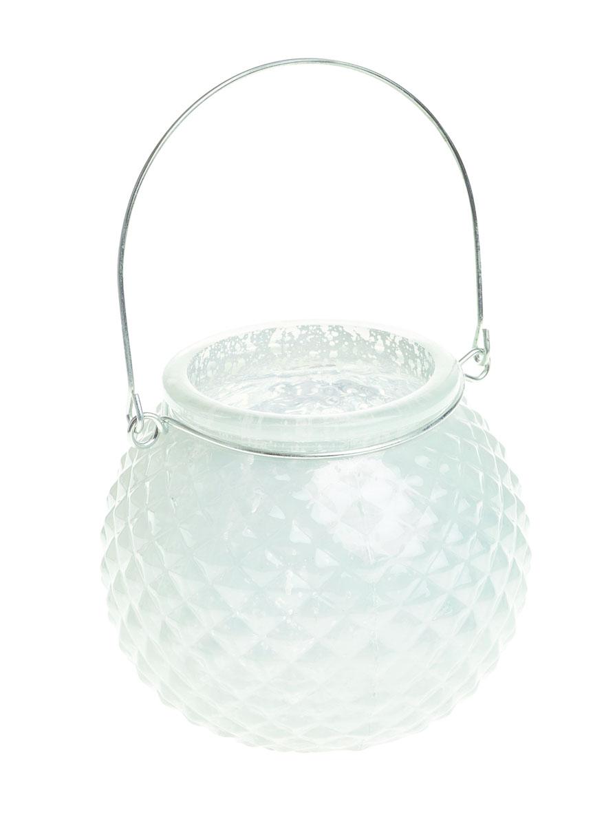 Подсвечник подвесной Gardman Honey Pot. Diamond, цвет: белый, 8,5 см17834Декоративный подсвечник Gardman Honey Pot. Diamond изготовлен из высококачественного стекла с металлической фольгой внутри. Он позволит украсить интерьер дома или рабочего кабинета оригинальным образом. Вы можете поставить или подвесить подсвечник в любом месте, где он будет удачно смотреться и радовать глаз. Кроме того - это отличный вариант подарка для ваших близких и друзей.