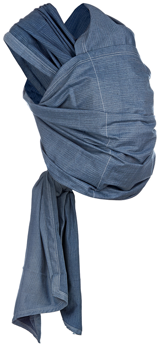 Чудо-Чадо Слинг-шарф Сити-джинс цвет синий голубой -  Рюкзаки, слинги, кенгуру