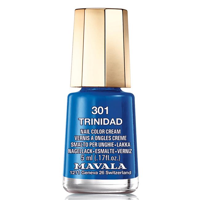 Mavala Лак для ногтей Тринидад/Trinidad , Тон 301, 5 мл08-1257Лаки для ногтей Mavala представлены классическими и ультрамодными оттенками. Они пропускают воздух даже через 3-4 слоя, давая возможность ногтям дышать. Специально разработанный состав лаков позволяет им оставаться свежими и насыщенными долгое время. Лаки не содержат толуол, формальдегид, камфору, дибутил фталат, канифоль и добавленный никель.
