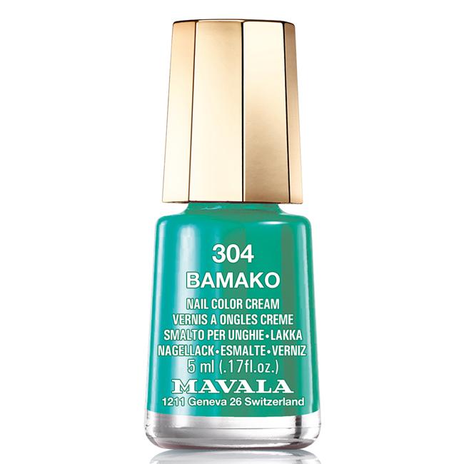 Mavala Лак для ногтей Бамако/Bamako , Тон 304, 5 мл08-1260Лаки для ногтей Mavala представлены классическими и ультрамодными оттенками. Они пропускают воздух даже через 3-4 слоя, давая возможность ногтям дышать. Специально разработанный состав лаков позволяет им оставаться свежими и насыщенными долгое время. Лаки не содержат толуол, формальдегид, камфору, дибутил фталат, канифоль и добавленный никель.