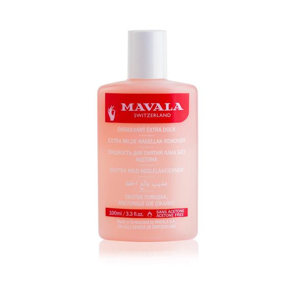Mavala Жидкость для снятия лака Розовая Pink 100 мл жидкость для снятия лака увлажняющая для сухих и хрупких ногтей