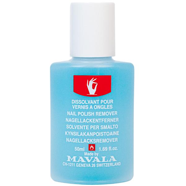 Mavala Жидкость для снятия лака Голубая/ NAIL POLISH REMOVER Blue 50 мл жидкость berenice для снятия лака nail polish remover 200 мл
