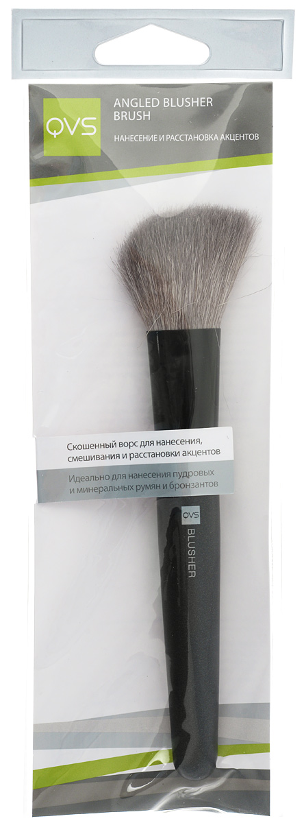 QVS Скошенная кисть для румян ANGLED BLUSHER BRUSH 5 2 circular annular lug ground lug 100 to loop wiring lug cold copper tips