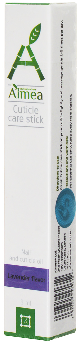 Almea Масло для ухода за кутикулой и ногтями, лаванда, 3 мл almea аппарат clariskin original
