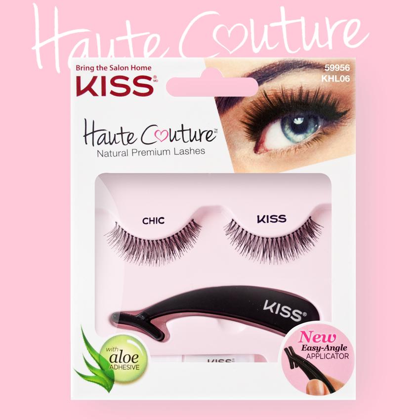 Kiss Haute Couture Накладные ресницы Single Lashes Chic KHL06GT12-016Накладные ресницы Kiss Haute Couture Chic (KHL06) - подходят для ежедневного использования и для вечернего образа. Увеличивают длину ресниц, делают их пушистыми и густыми. Изготовлены вручную из натурального волоса, отличаются великолепным качеством и мягкостью, комфортны для глаз. Изогнутая форма пинцета удобна для крепления ресниц. Клей с содержанием алоэ обеспечивает гипоаллергенность. Протестировано и одобрено дерматологами. Можно использовать несколько раз. Снятие ресниц не требует дополнительных средств: просто приложите ватный диск с теплой водой и снимите ресницы.Состав набора: пара накладных ресниц, пинцет, клей.