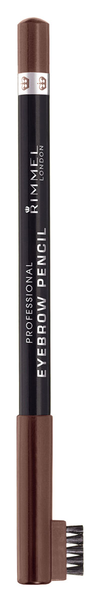 Rimmel Карандаш для бровей С Щеточкой `Professional Eyebrow Pencil` Re-pack 001 тон(dark brown),5,2 мл34007209001Мягкая формула для легкого нанесения. Натуральные оттенки для идеального макияжа бровей. Удобная щеточка-расческа подготавливает брови для использования карандаша, а затем облегчает равномерное распределение цвета. Как создать идеальные брови: пошаговая инструкция. Статья OZON Гид