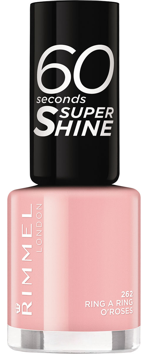 Rimmel Лак Для Ногтей `60 Seconds` Re-lanch Тон 262 ring a ring o`roses,8 мл
