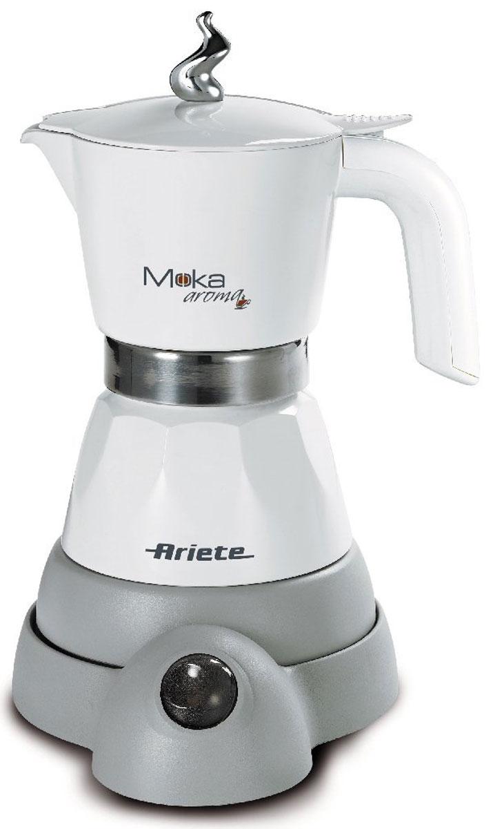 Ariete 1358 Moka Aroma, White кофеварка эспрессо ariete greenforce plus 2788 2 white green