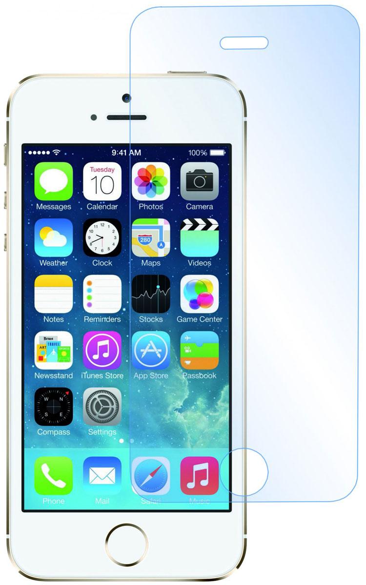Prime защитное стекло для iPhone 5/5s, глянцевоеSP-133Защитное стекло Prime для iPhone 5/5s предназначено для защиты поверхности экрана от царапин, потертостей, отпечатков пальцев и прочих следов механического воздействия. Оно имеет окаймляющую загнутую мембрану последнего поколения, а также олеофобное покрытие. Изделие изготовлено из закаленного стекла высшей категории, с высокой чувствительностью и сцеплением с экраном.