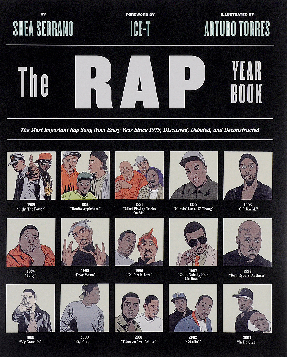 The Rap Year Book history year by year