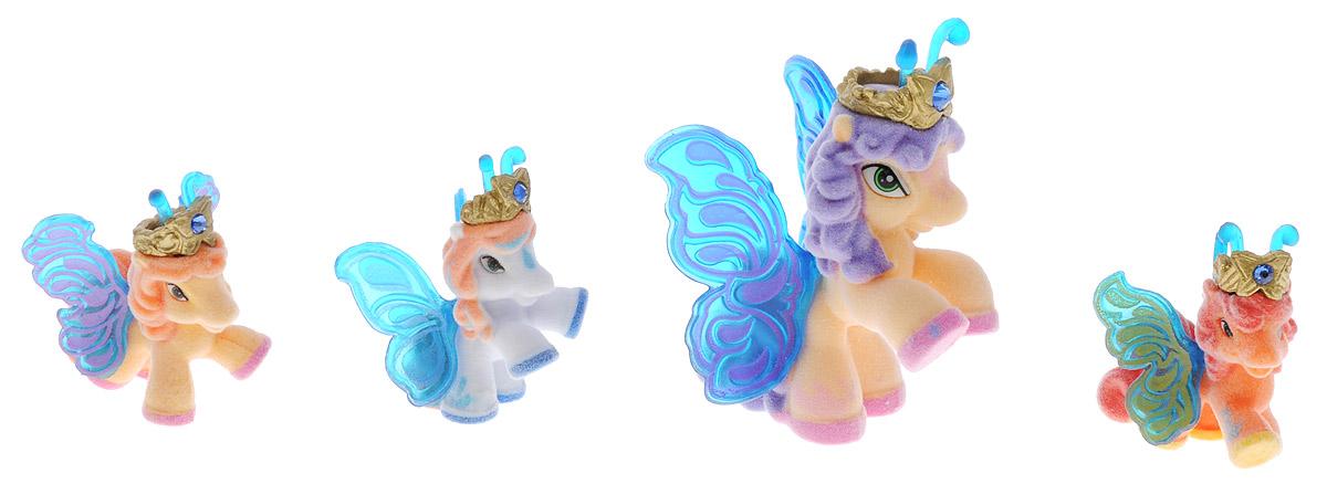 Filly Dracco Набор мини-фигурок Волшебная семья Max dracco игровой набор лошадки filly звезды волшебная семья мини версия astro и hypnia