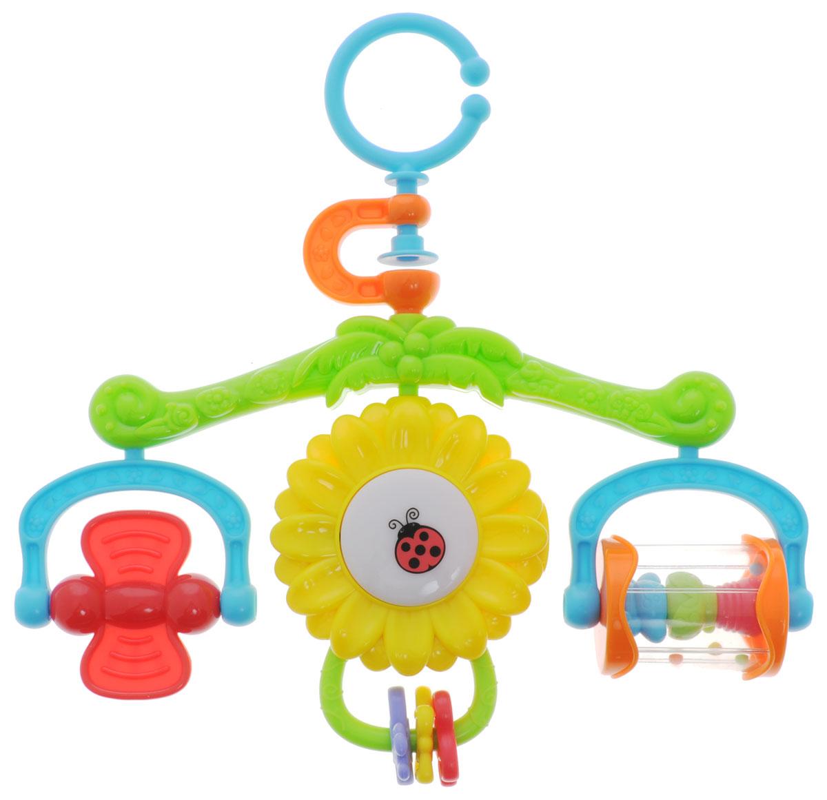 Playgo Музыкальный мобиль Солнышко - Игрушки для малышей
