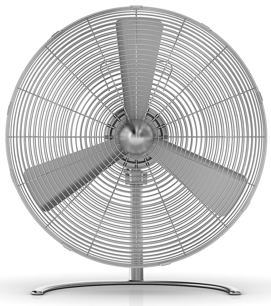 цена на Stadler Form Charly Fan Table New, Silver вентилятор настольный