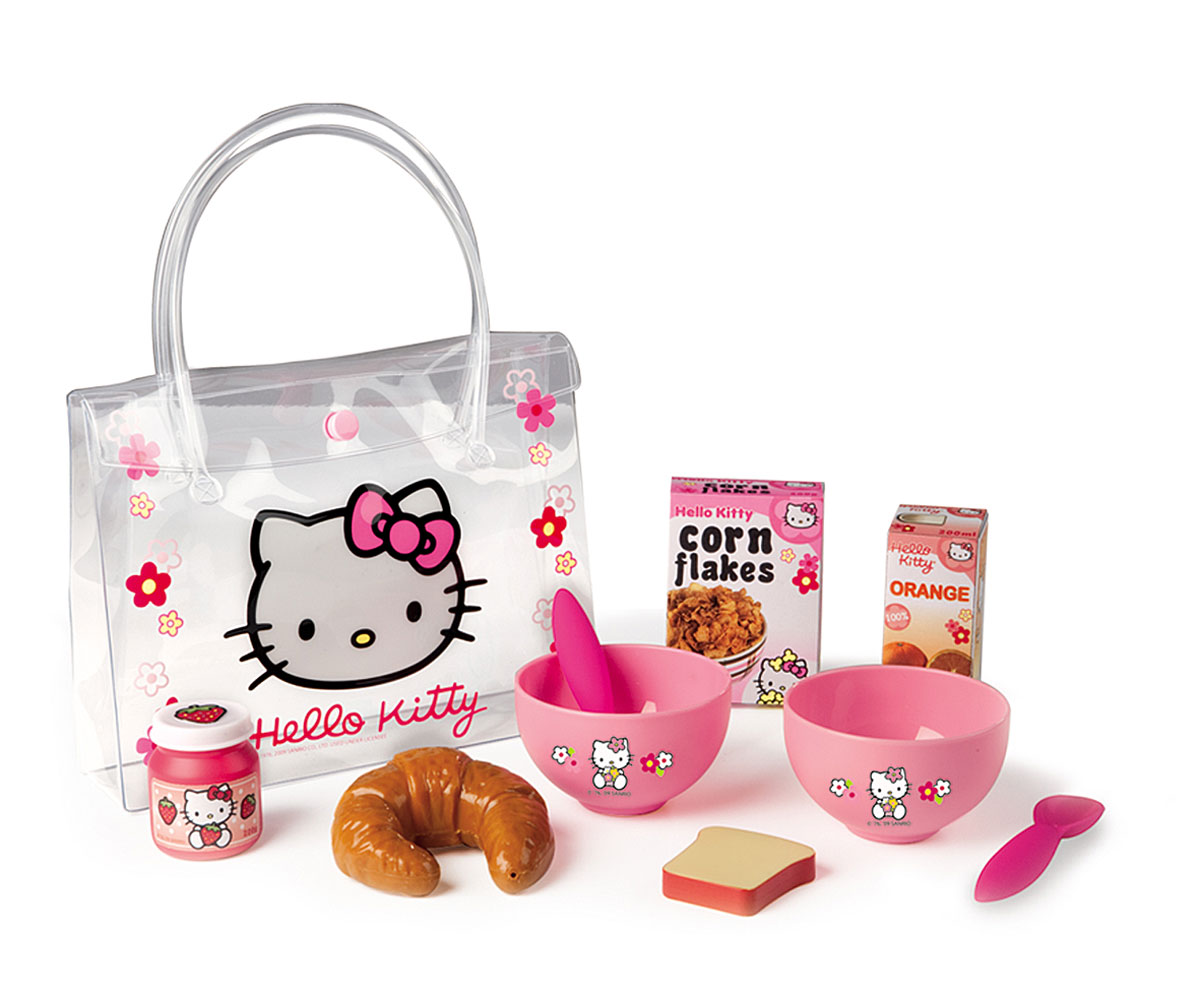 Smoby Набор для завтрака Hello Kitty игрушки для кукольных домиков re ment re ment rement hello kitty supermarket