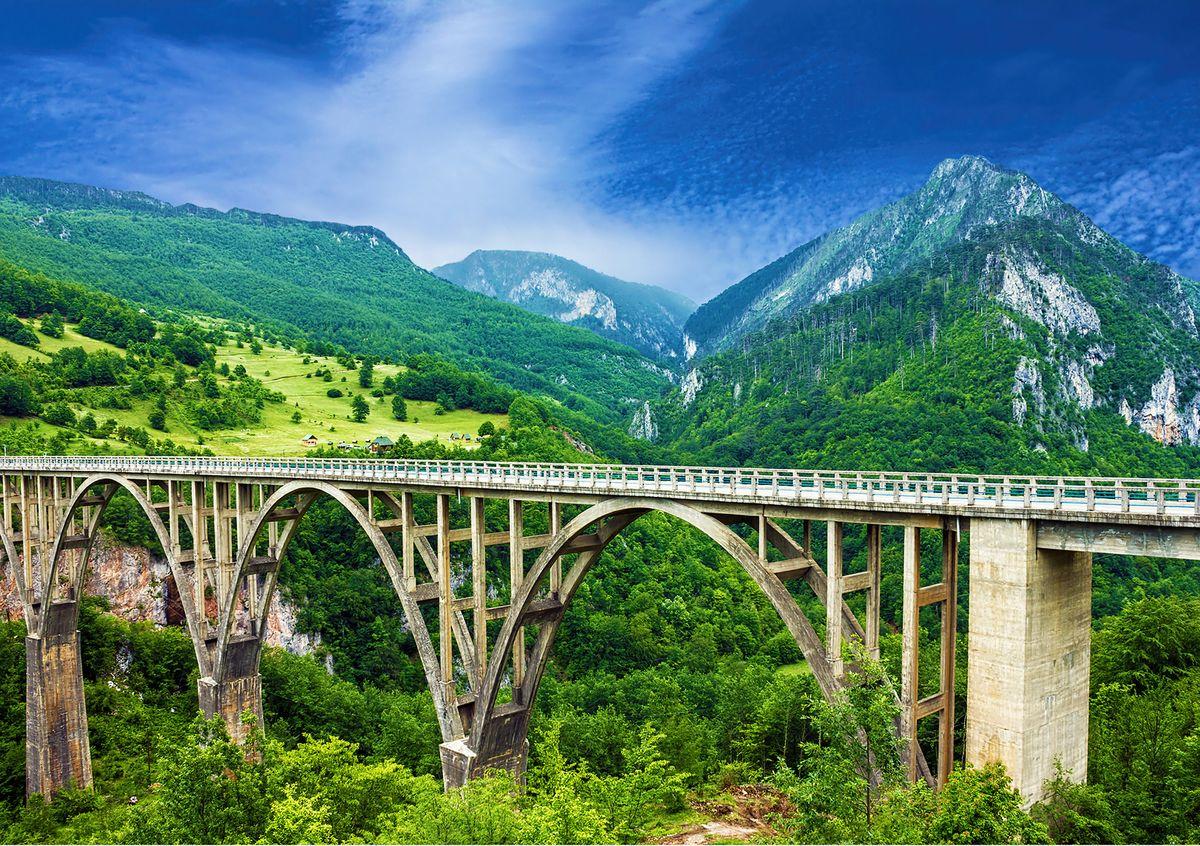 Фотообои Decoretto Горы Черногории, 360 х 254 см