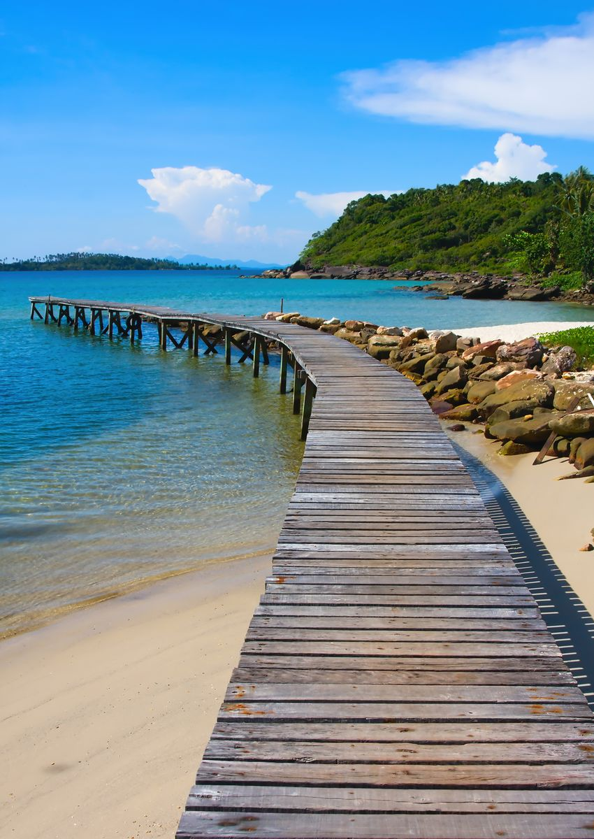 Фотообои Decoretto Пляж в Тайланде, 180 х 254 см