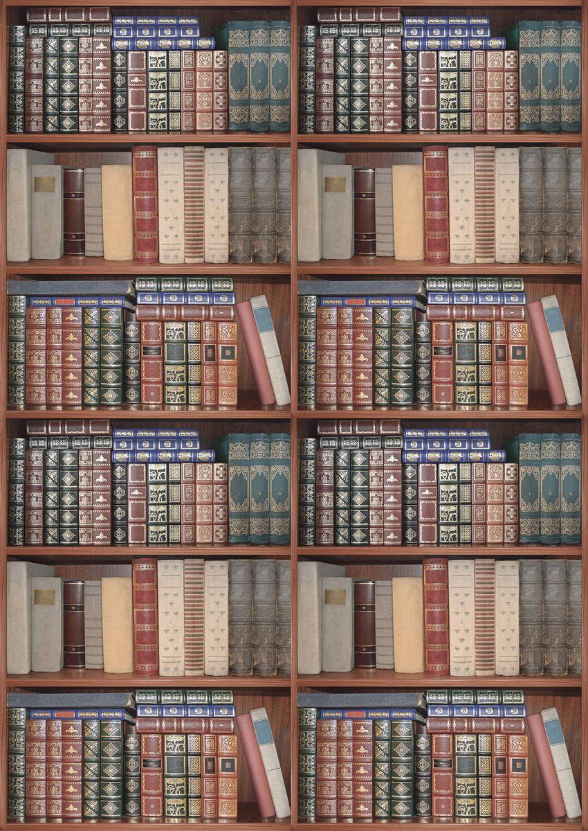 decoretto фотообои в густом лесу 180х127 Фотообои Decoretto Книжная полка, 180 х 254 см
