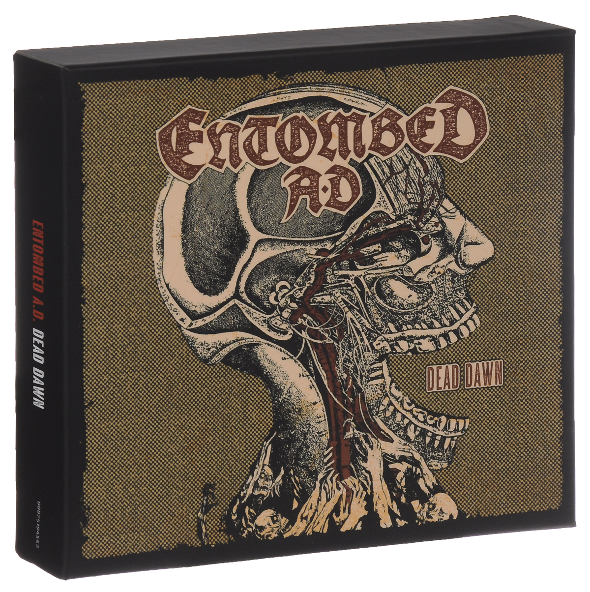 Entombed A.D. Entombed A.D. Dead Dawn (+ Audio MC) side by side international version 3