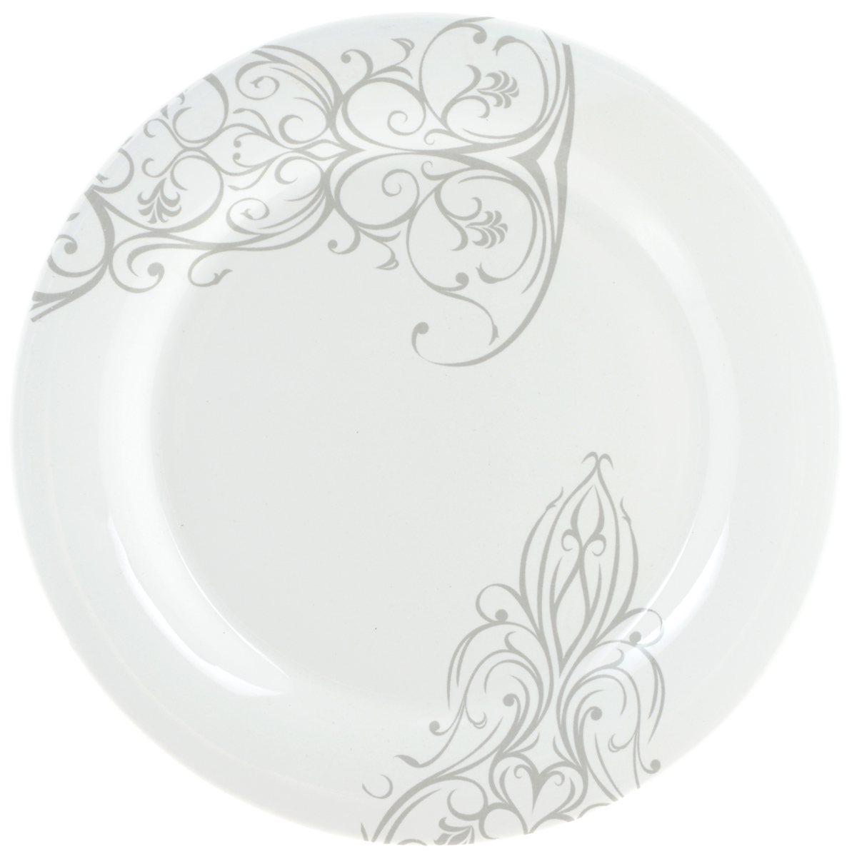 Тарелка десертная Ceramiche Viva Черный ирис, диаметр 20 см тарелка десертная даржилинг оранж 20 5 см 861123