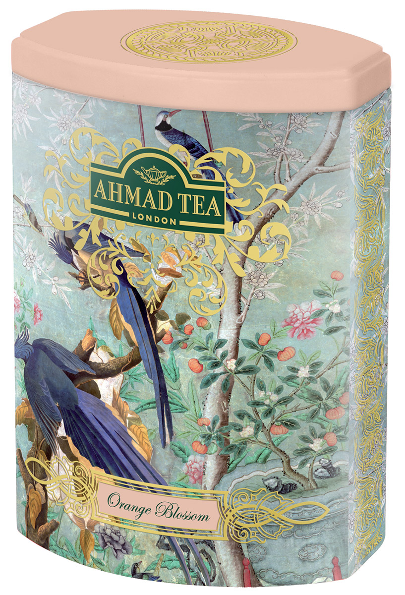 Ahmad Tea Цветок Апельсина черный листовой чай, 100 г (ж/б)1172N1Чуть заметная сластинка и тонкий аромат составляют особенный легкий букет чая Ahmad Tea Цветок Апельсина. В европейской традиции цветок апельсина считается символом любви. В честь него назвали букет невесты – флёрдоранж. Моду на них и на белые свадебные платья ввела английская королева Виктория в 19 веке.