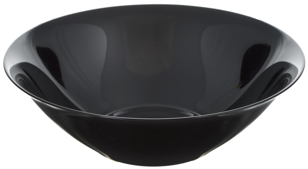 Салатник Luminarc Carine Black, диаметр 27 смD2376Салатник Luminarc Carine Black выполнен из ударопрочного стекла, он придется по вкусу и ценителям классики, и тем, кто предпочитает утонченность и изысканность. Салатник Luminarc Carine Black идеально подойдет для сервировки стола и станет отличным подарком к любому празднику.Диаметр (по верхнему краю): 27 см.