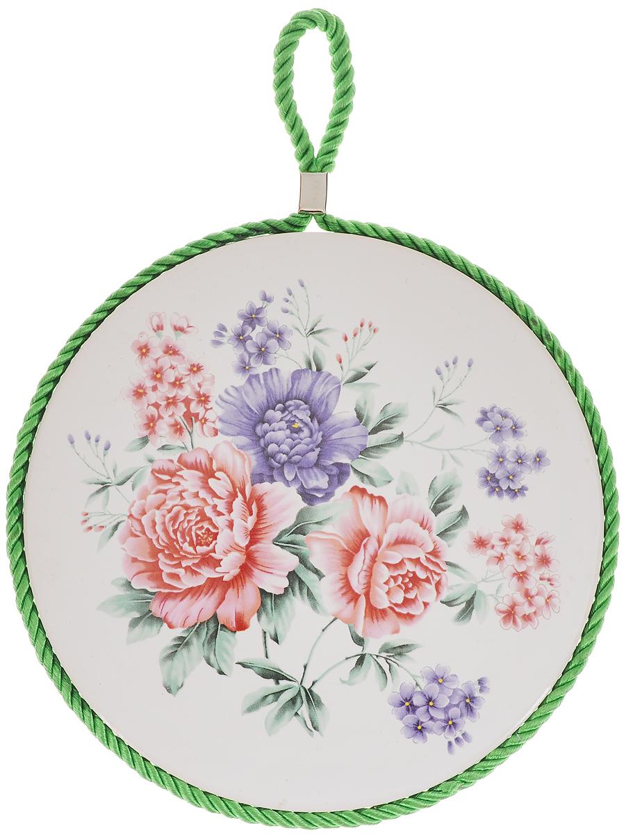 Подставка под горячее Loraine Цветок, диаметр 17 см. 24553 подставка под горячее loraine цветок 17 см розовый