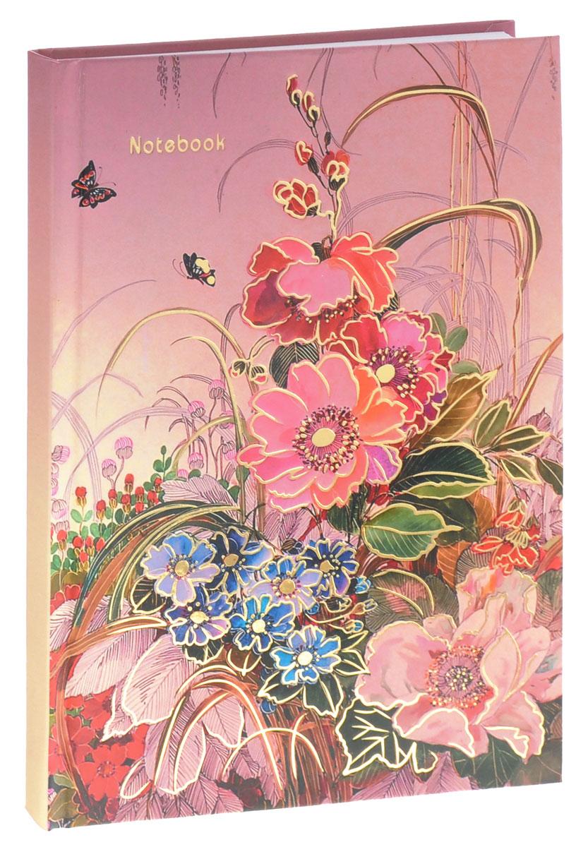 Listoff Записная книжка Нежные краски 100 листов в клеткуКЗФ51001762Записная книжка Listoff Нежные краски - важный атрибут современной женщины, необходимый для повседневных записей.Записная книжка содержит 100 листов формата А5 в клетку без полей. На обложке, выполненной из плотного картона, изображены цветы и бабочки. Внутренний прошитый блок изготовлен из высококачественной плотной бумаги, что гарантирует чистоту записей и полное отсутствие потери листов. Первая страничка представляет собой анкету для заполнения личных данных. Записная книжка имеет ляссе.Книга для записей станет достойным аксессуаром среди ваших канцелярских принадлежностей. Она подойдет для любителей записывать свои мысли, делать наброски.