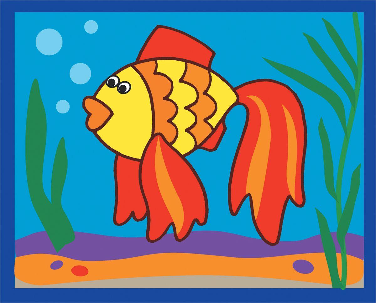 Дрофа-Медиа Аппликация из песка Рыбка Дрофа-Медиа