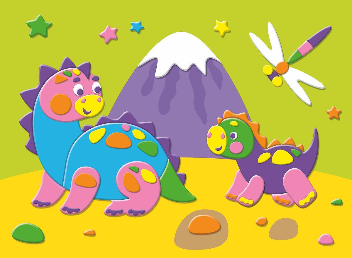 Дрофа-Медиа Аппликация Динозавры на прогулке