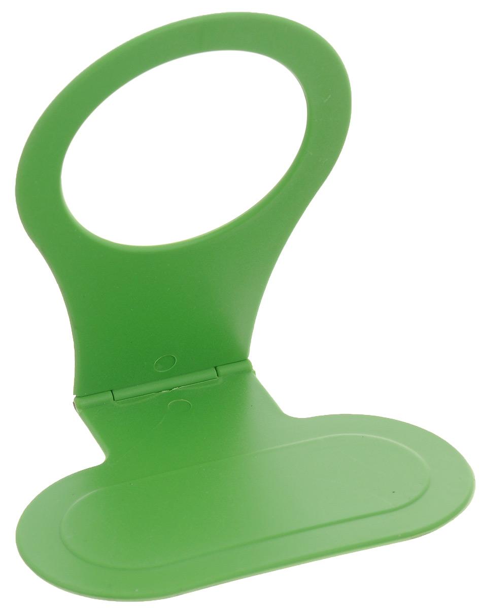 """Подставка для мобильного телефона """"Eva"""", цвет: зеленый, 11 х 10 х 7,5 см"""