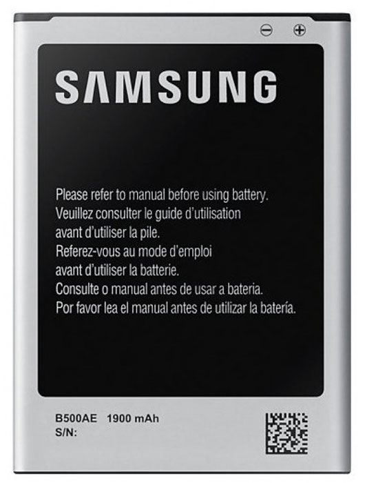 Samsung EB-B500AEBECRU cтандартный аккумулятор для S4 miniEB-B500AEBECRUОригинальный литий-ионный аккумулятор EB-B500AEBECRU ёмкостью 1900 мАч разработан специально для Samsung GALAXY S4 mini и обеспечивает надёжную и продолжительную работу смартфона.Оригинальные литий-ионные аккумуляторы созданы исключительно для смартфонов Samsung, обеспечивая длительную работу мобильных устройств. Они надёжны и безопасны, поскольку прошли длительное тестирование и процесс сертификации. Для продления времени работы смартфона лучше всегда иметь при себе запасной аккумулятор.