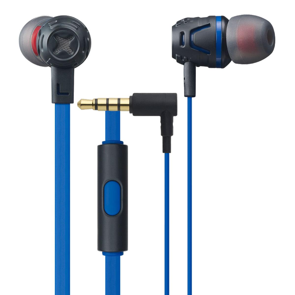 Cresyn C450S, Blue наушники с микрофономC450S BlueВставные наушники с микрофоном Cresyn C450S совершенны в своем исполнении. Яркий дизайн и множество цветовых вариантов рассчитаны на взыскательный вкус стремительных и энергичных. Крупные 10-миллиметровые динамики с неодимовыми магнитами выдают детализированный звук, насыщенный глубокими басами. Открытое акустическое оформление способствует предельно естественному звучанию, апосадка в ушном канале с подобранными по размеру насадками изолирует шумы извне. Плоский кабель не спутывается и отличается повышенной прочностью. Двухцветные насадки разных размеров не только позволяют получить максимальный комфорт при ношении, но и радуют сочетанием цветов.Пульт, встроенный в кабель стерео-гарнитуры Cresyn C450S, располагает кнопкой для ответа на входящие вызовы. Высокочувствительный ненаправленный микрофон с максимальной четкостью захватывает ваш голос при общении, отсекая лишние шумы. Все перечисленные функции позволяют слушать музыку и отвечать на звонки, не доставая смартфон из кармана.