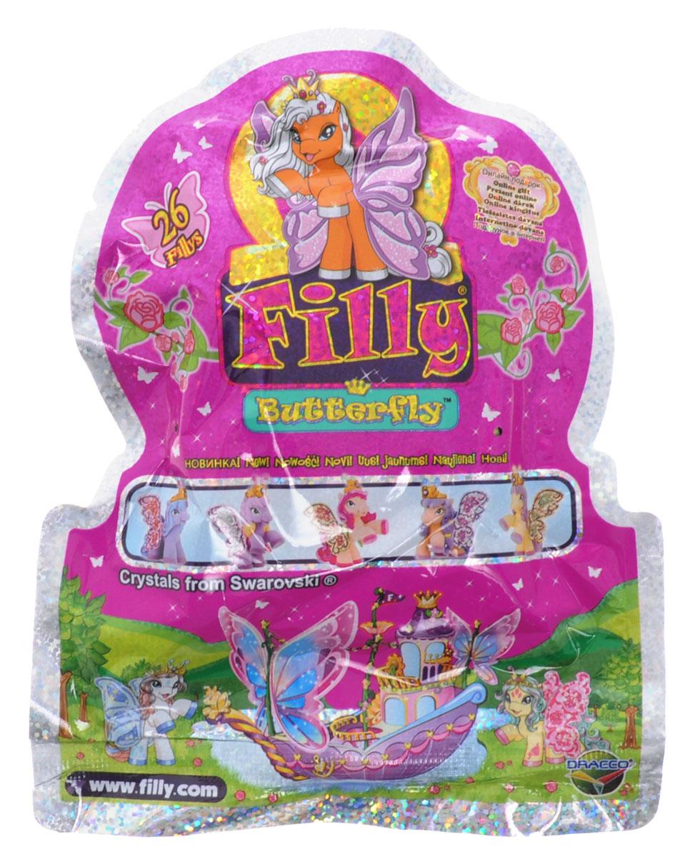 Filly Dracco Фигурка Бабочки с блестками игровые наборы dracco набор игровой filly русалочки танцевальная сцена